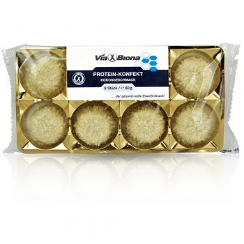 Viabiona Protein-Konfekt mit Kokosgeschmack