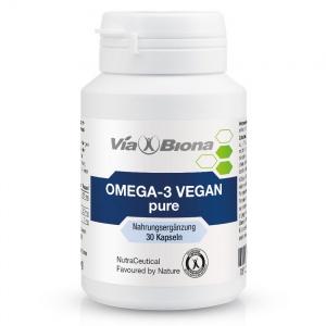 NEU: Omega-3 vegan pure<br>aus Algenöl