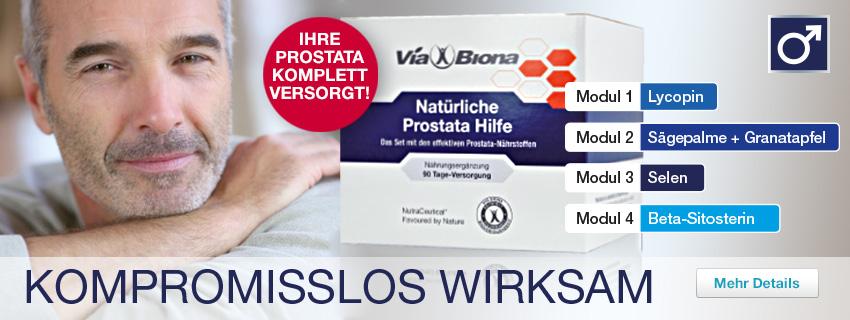 Natürliche Prostata-Hilfe